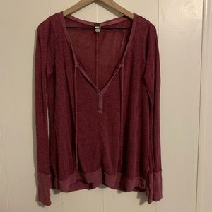 Free People Sheer Sweater